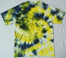 Cool Green Fractal Tie Dye T-Shirt - Mens Medium Psychedelic Hippie  M