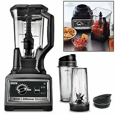 Ninja Ultima Blender + 1500W 2.5HP Smoothie Maker Food Processor Mixer Chopper
