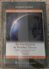 The Great Courses NEW DVD BOOK Set An Introduction To Number Theory Science Math