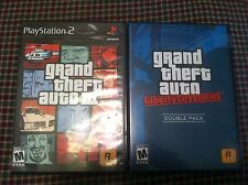 2 Playstation 2 Grand theft auto 3 and liberty city stories    PS2