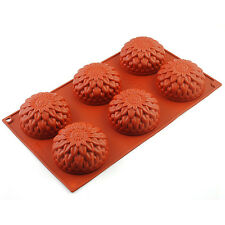 Sunflower Silicone Mold Chocolate Cake Baking Pan DIY Soap Kitchen Cooking Tools