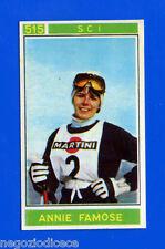 Figurina/Sticker CAMPIONI DELLO SPORT 1967/68-n. 515 - ANNIE FAMOSE - SCI -rec