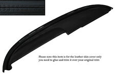 BLACK STITCH TOP DASH DASHBOARD LEATHER COVER FITS BUICK LESABRE COUPE 1960