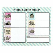 Official Pusheen the Cat  Weekly Planner - Pusheen Novelty Stationery