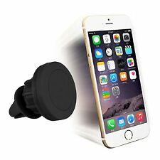 360° In Car Magnetic Air Vent Mount Holder For Smartphones Tablets iPad iPod