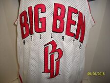 Ben Wallace BB Big Ben #3 Basketball Jersey Detroit Pistons SZ SMALL  EUC