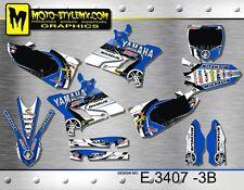 Yamaha YZ 125 & 250 sticker kit graphics 2015 kit decor grafische