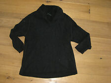 MARCCAIN MARC CAIN PULLOVER   N1  SCHWARZ CHENILLE TOP