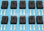 10 X 50Amp DC Connector Anderson Style 12v 24v Fridge Charger Battery black