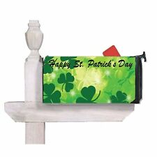 St Patrick's Day Mailbox Cover - Outdoor Decor - Mailbox Wrap
