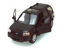 "Welly 2005 Ford Escape Limited SUV 1:24 diecast 7.5"" diecast model car Black"