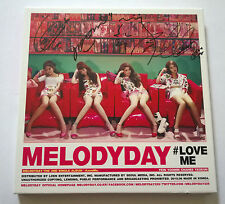 MELODY DAY MelodyDay 2nd Single Album CD #LOVEME All Members Signed Autographed
