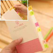 1PCS Candy Color 100 Pages Book Mark Memo Paper Notes Scrapbooking Sticker Paper