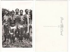 """Nackte afrikanische Frau African Ethnic female nude """"a Row of Pearls"""" c.1950"""