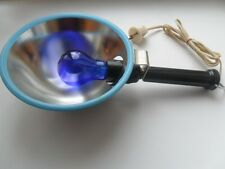 Vintage Soviet USSR Medical Infrared Reflector Lamp for Blue Light Therapy