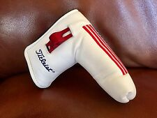 Scotty Cameron WHITE Large USA American Flag Head Cover With Divot Tool NEW