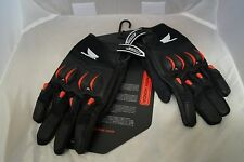 JOE ROCKET MENS HONDA CYNTEK RED  BLACK GLOVES  SIZE LARGE
