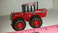 1/64 ERTL custom international 4586 black stripe 4wd tractor with Duals farm toy