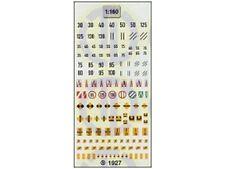TL-Decals 1927 - CH SBB CFF FFS Signaltafeln - Spur N - NEU