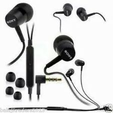 SONY MH750 STEREO HEADSET EARPHONE HANDSFREE HEADPHONE  3.5 MM JACK WITH MIC