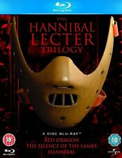 HANNIBAL LECTOR Trilogy Complete Movie Bluray Boxset Brand New and Sealed