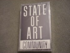 SEALED RARE PROMO State Of Art CASSETTE TAPE Community CHIC Bootsy Collins r&b !