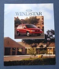 1996 Ford Windstar Van Dealer Sales Brochure~Original Showroom Catalog