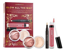 bareMinerals Glow All the Way - 4 piece Collection for Eyes, Face and Lips