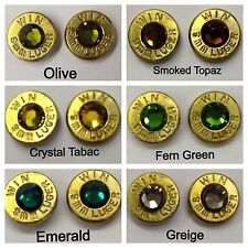 Camouflage Bullet Jewelry Ammo Earrings Camo 9mm, 40, 357, 38 Special, 32, 380
