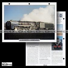 #016.03 Fiche Train - Chemin de fer Technique : LA LOCOMOTIVE A CONDENSATION