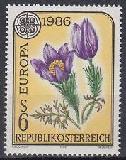 Österreich Austria 1986 ** Mi.1848 Europa Cept Blumen Flowers Flora