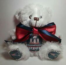 New England Patriots Super Bowl LI Custom Teddy Bear