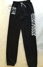 Obey Women's Fleece Sweatpants Speak of the Devil Black SM NWT Shepard Fairey
