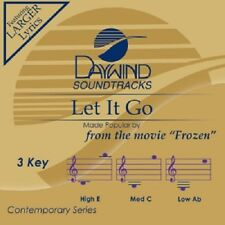 LET IT GO - ACCOMPANIMENT CD - FROM MOVIE FROZEN NEW