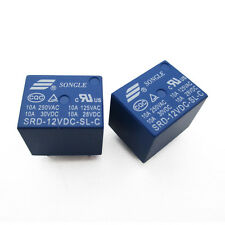 5PCS SRD-12VDC-SL-C RELAY T73-12V SONGLE 12V Power Relay brand new
