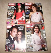 HELLO MAGAZINES WILLIAM AND KATE DUKE & DUCHESS OF CAMBRIDGE