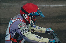 PAUL COOPER HAND SIGNED SCUNTHORPE SCORPIONS SPEEDWAY 6X4 PHOTO 8.