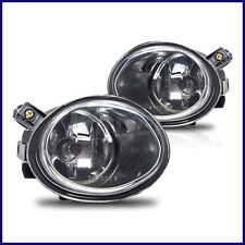2001-2003 BMW E39 OEM REPLACEMENT CLEAR FOG LIGHTS LAMPS M5 MTECH FRONT BUMPER