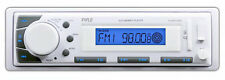 Pyle PLMR-20W Marine 12V InDash AM/FM Radio MP3 & USB SD AUX iPod Input Receiver