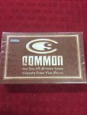 Common One Day It'll Make Sense PROMO Sampler Cassette Rare - NEW OOP