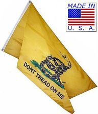 3x5 Gadsden Culpeper Flag 3'x5' Made in USA (Knitted 100D Polyester Fabric)