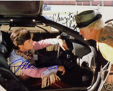 BACK TO THE FUTURE CAST AUTOGRAPH SIGNED PP PHOTO POSTER