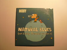 Moby ‎– Natural Blues (Ooh Lordy Trouble So Hard) Cd Single Enhanced electronic