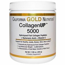 Fish Collagen 204 gr 5000mg Hylauronic Acid Vitamin C California Gold Nutrition