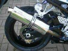 Suzuki GSXR 600 / 750 SRAD 96'-00' stainless round ROAD LEGAL MTC Exhaust