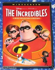 The Incredibles Two Disc Collectors Edition DVD with Case from 2005 Disney Pixar
