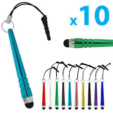 10 x Touch Stylus Pen für Screen Stift Tablet Ipad Samsung htc Handy kapazitiver