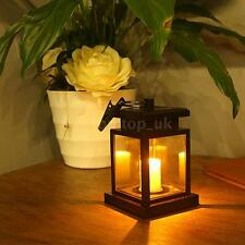 New Solar-powered Light with 1pcs Warm White LED Candle Light Water-resistant