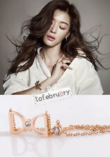 Korean Drama My Love From The Star Jun Ji Hyun Bow Necklace