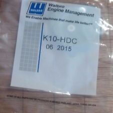 K10-HDC Walbro Carburetor Kit  Rebuild Repair Genuine HDC-81 HDC-80 HDC-64 + NEW